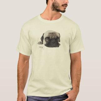 Camiseta T-shirt bonito da vida do Pug