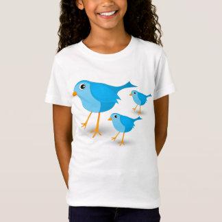Camiseta T-shirt bonito das meninas ou dos miúdos dos