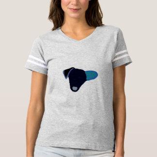 Camiseta T-shirt bonito das mulheres