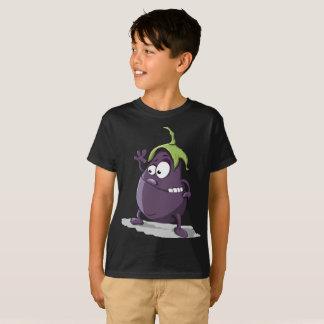 Camiseta T-shirt bonito de ondulação dos miúdos da