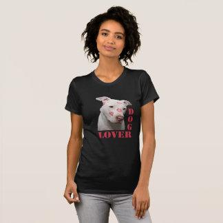 Camiseta T-shirt bonito do amante do cão