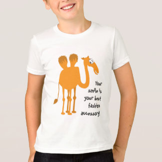 Camiseta T-shirt bonito do camelo
