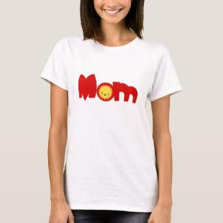 Camiseta T-shirt bonito do casal da família da mamã de Sun