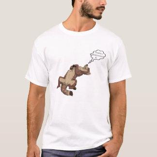 Camiseta t-shirt bonito do lobo