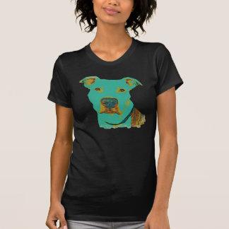 Camiseta T-shirt bonito do pitbull