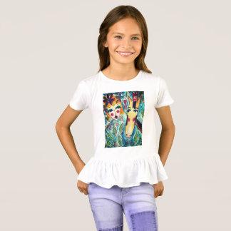 Camiseta T-shirt bonito do plissado para pônei-amantes