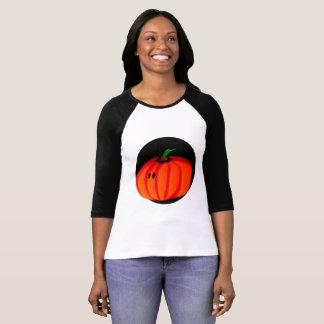 Camiseta T-shirt bonito do Raglan do Bella das mulheres da