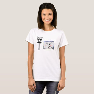 Camiseta T-shirt bonito do vale dos desenhos animados para