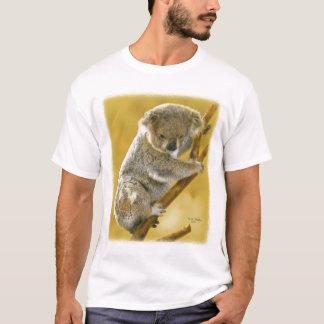 Camiseta … T-shirt bonito e roupa do urso de Koala…!