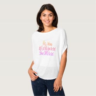 Camiseta T-shirt bonito special2 da mulher
