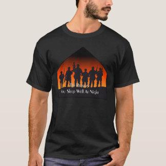 Camiseta T-shirt bons do dia da relembrança do sono