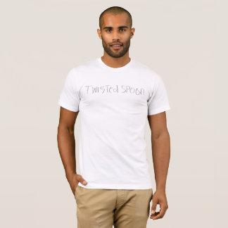 Camiseta t-shirt branco básico do twistedXspoon