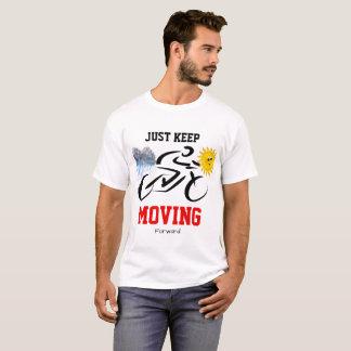 Camiseta T-shirt branco com motivação
