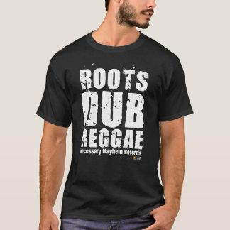 Camiseta T-shirt branco do texto do Dub necessário das