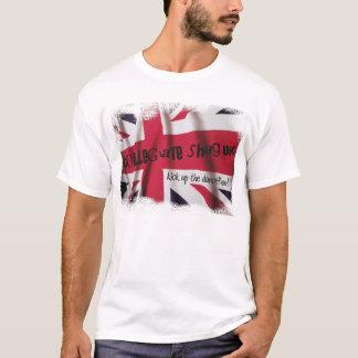 Camiseta T-shirt BRITÂNICO da bandeira de união do Shag