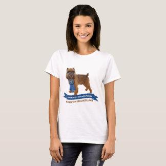 Camiseta T-shirt BRUXELENSES do CAMPEÃO de GRIFFON