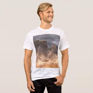 Camiseta T-shirt cabido canvas da neutralização dos homens