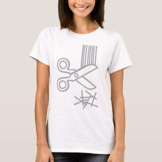 Camiseta T-shirt cabido corte de cabelo