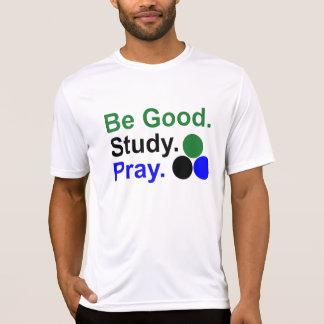 Camiseta T-shirt cabido Esporte-Tek do desempenho dos