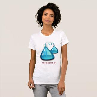 Camiseta T-shirt cabido experiência da química