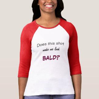 """Camiseta T-shirt """"calvo"""" das senhoras"""