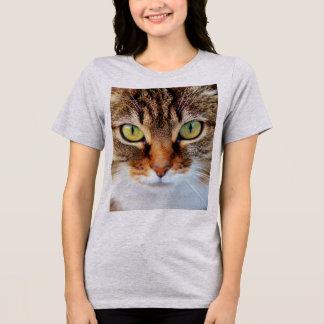 Camiseta T-shirt & camisolas da CARA do CAT grande do CLOSE