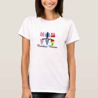 Camiseta T-shirt CARDÍACO da ENFERMEIRA