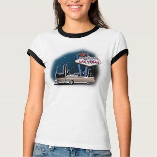 Camiseta t-shirt, carro retro, Las Vegas, cadillac