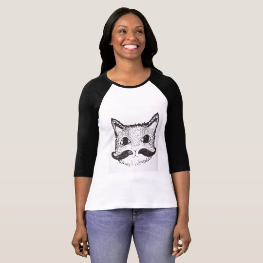 Camiseta T-shirt cat is meow
