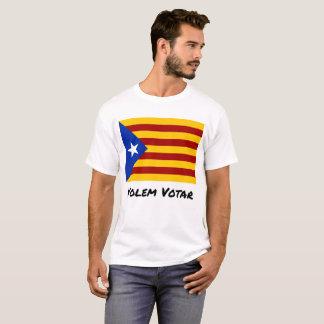 Camiseta T-shirt Catalan do referendo