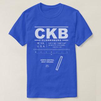 Camiseta T-shirt central norte do aeroporto CKB de West