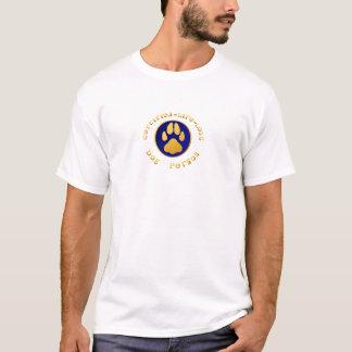 Camiseta T-shirt Certificar-Vida-Longo da pessoa do cão
