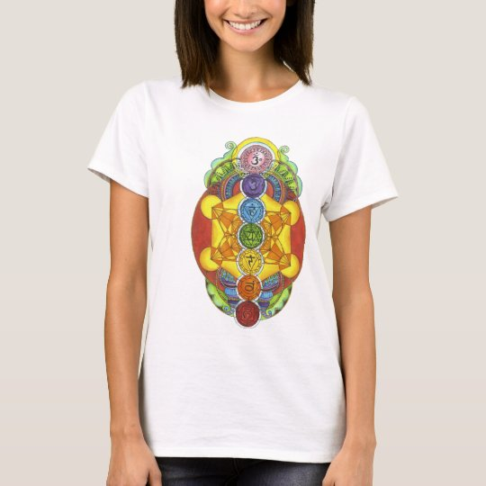 Camiseta T-shirt Chakras