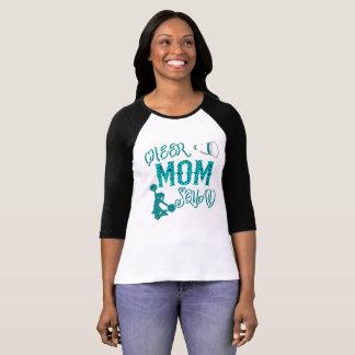 Camiseta T-shirt Cheerleading da madrasta do presente do