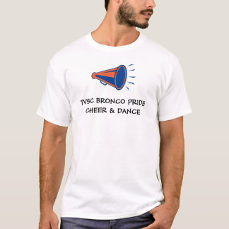 CAMISETA T-SHIRT CHEERLEADING DO ORGULHO DO BRONCO DE TVSC…