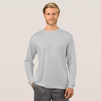 Camiseta T-shirt cinzento da tartaruga de Longsleeve