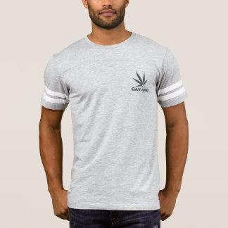 Camiseta T-shirt cinzento de GAV pelo #GrindAndVape