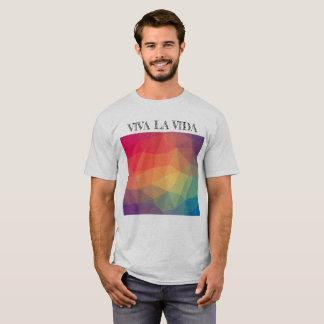 Camiseta T-shirt cinzento de Vida do La de Viva