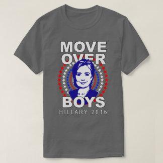 Camiseta T-shirt cinzento dos meninos de Hillary Clinton