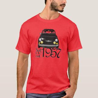 Camiseta T-shirt clássico de Fiat 500