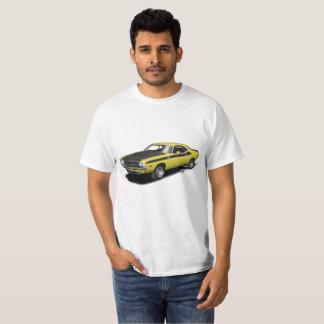 Camiseta T-shirt clássico do carro do desafiador amarelo