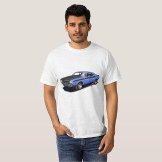 Camiseta T-shirt clássico do carro do desafiador azul