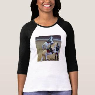 Camiseta T-shirt clássico do cavalo do garanhão branco de