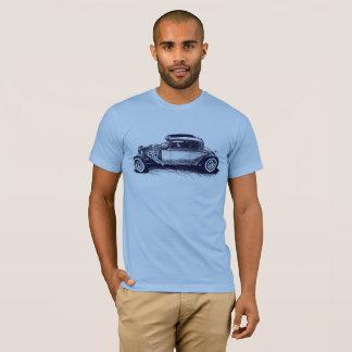 Camiseta T-shirt clássico do hot rod