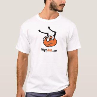 Camiseta T-shirt clássico do logotipo de WyzAnt - tamanho