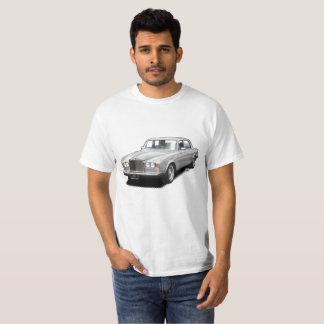 Camiseta T-shirt clássico real do carro do rolamento de