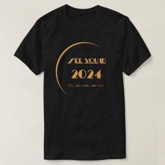 Camiseta T-shirt Cleveland do eclipse
