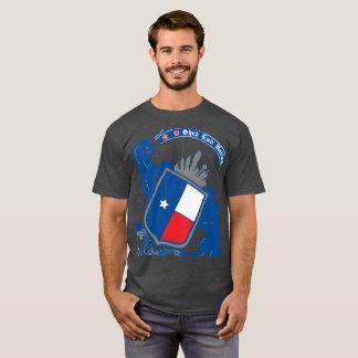 Camiseta T-shirt colhido Dallas do crachá da extremidade da