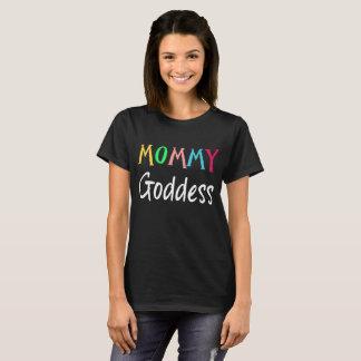 Camiseta T-shirt colorido da fantasia da deusa das mamães