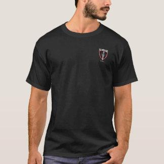 Camiseta T-shirt colorido obscuridade do logotipo dos